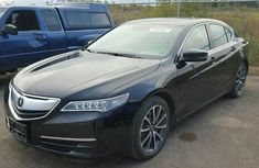 Acura TLX 2015 Black For Sale