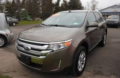 Clean ford edge 2010 Brown for sale