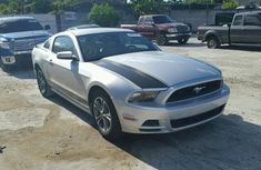 CLESN FORD MUSTANG 2014 SILVER FOR SALE