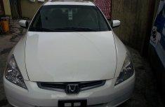Toks 2005 White Honda Accord Ex For Sale
