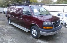 GMC SAVANA BASE SALVAGE 2013 RED FOR SALE