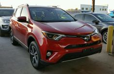 Toyota Rav4 2017 Red for sale