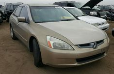 2003 Honda Accord Gold For Urgent Sales