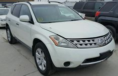 2005 NISSAN MURANO White for sale