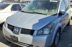2006 NISSAN QUEST Silver for sale