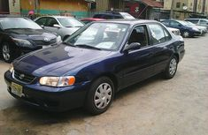 Blue flashy clean 2001 Toyota Corolla ce for sale