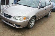 2001 silver bird Toyota Corolla for sale