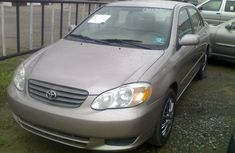 2005 Tokunbo Toyota Corolla le for sale