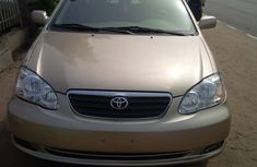 2004 Gold bankers Toyota Corolla le for sale