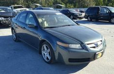 Clean Acura TL 2005 Green for sale