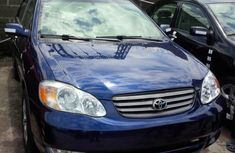 Toyota Corolla 2009 model Blue for sale.