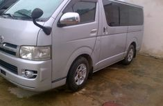 Toyota Haice 2012 silver for sale