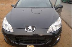 2004 Super shinning black Peugeot 407 for sale