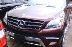 2014 Mercedes-Benz ML for sale