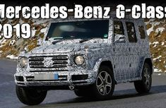 Mercedes-Benz to reveal its all-new G Class 2019 on 15 January