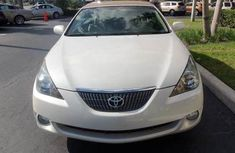 2006 Convertible clean charming white Toyota Solara for sale