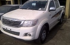 2011 White tokunbo Toyota Hilux for sale