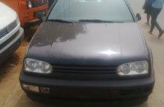 Tokunbo black Volkswagen Golf 1994 for sale