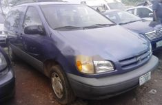 Toyota Sienna 1999 Petrol Automatic Blue for sale