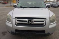 Foreign used Honda Pilot 2008 Silver for sale