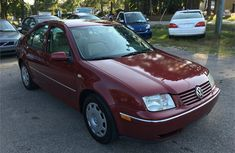 Foreign used Volkswagen Jatta 2003 Red for sale