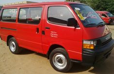 Clean Toyota Hiace bus 2000 Red for sale