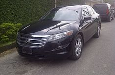 Clean Honda Crosstour 2009 Black for sale