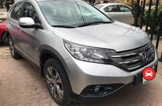 Honda Crv 2013 silver for sale