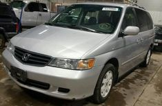 2003 silver Well maintained Honda Odyssey for sale