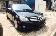 Clean Mercedes Benz C300 2007 Black for sale