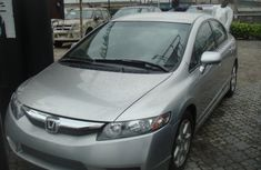 Clean Honda Civic 2005 silver for sale