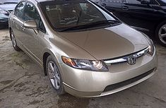 Clean Honda Civic 2005 gold for sale