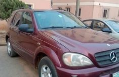 2001 Mercedes-Benz ML 320 for sale in Lagos