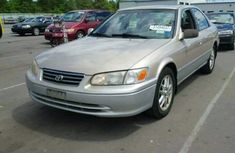 Clean 2002 Grey Toyota Camry for sale ac/filtered and good working conditions