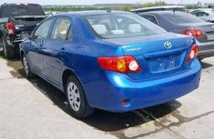Clean 2003 Blue Toyota Corolla for sale ac/filtered