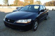 1999 Black Honda Accord for sale