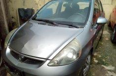 Honda Fit 2007 Petrol Automatic Grey/Silver