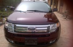 Neatly Tokunbo Ford edge 2010 Red for sale