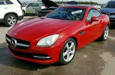 WELL KEPT TOKUNBO SLK 250 2010 RED FOR SALE