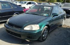 2000 Honda Civic Green for sale