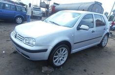 Fairly used 2005 Volkswagen Golf silver for sale