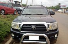 2006 Toyota Tacoma Pickup Black for sale