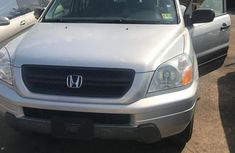 Honda Pilot 2004 Silver AT For Sale