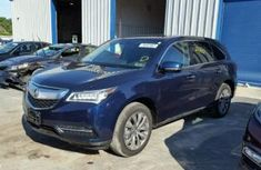 2016 Acura MDX Blue for sale