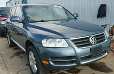 2006 VOLKSWAGEN TOUAREG 4. BLUE FOR SALE