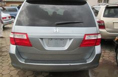 A clean Tokumbo Honda Odyssey 2007 Grey legend for sale