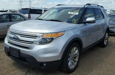 FORD EXPLORER 2011 SILVER FOR SALE