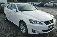 Clean direct tokumbo Lexus IS 250 2005 White for Sell.