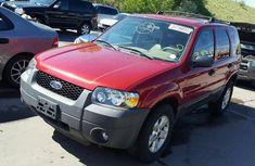 FORD ESCAPE 2006 RED FOR SALE