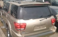 Toyota Sequoia 2007 Gold for sale